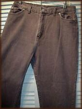 """FADED GLORY Classic 5 Pocket Jean Pant (16P) Brown 32"""" waist 28"""" inseam USA Made"""