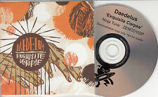 DAEDELUS Exquisite Corpse 2005 UK 14-track promo CD Ninja Tune