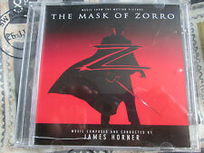 James Horner ‎– The Mask Of Zorro (Music From The Motion Picture) PROMO CD Album