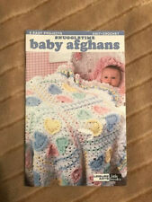 New listing New Leisure Arts booklet *Snuggletime Baby Afghans* to knit and crochet