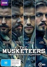 The Musketeers Series Complete Seasons 1-3 1 2 3 New OZ DVD Set Region 4 R4