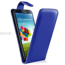 Blue Flip Case Pouch PU Leather Cover For Samsung Galaxy Y S5360 Mobile Phone