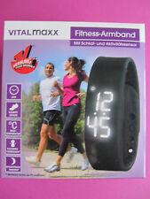 VITALMAXX LED Fitness Armband Sport Uhr Activity Tracker-Schlaf+Aktivitätssensor