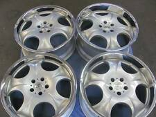 """20"""" ANTERA 323 Wheels (4) Staggered 20x8.5  20x10 Silver with SS Lip Rims"""