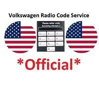 VW Radio Code Decode Unlock BETA GAMMA RNS RCD Volkswagen Unlock Code