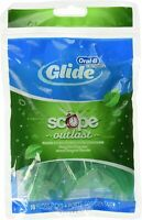 Oral-B Complete Glide Floss Picks Plus Scope Outlast Long Lasting Mint 75ct