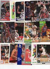 ARKANSAS RAZORBACKS 50 CARD BASKETBALL lot MYERS, DAY, HASTINGS, LANG JOHNSON...