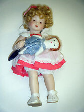 Porcelain Doll Royal Heirloom Collection Girl with Dolly