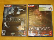 THE CRONICLES OF RIDDICK + PAINKILLER OVERDOSE 2 GIOCHI x PC NUOVI SIGILLATI IT