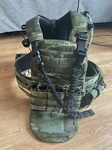 TMC Multicam Tropic AVS With Pouches, Devgru SAS, Medium Bags Medium Harness