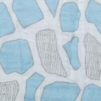Shannon Double Gauze Baby Blue Giraffe Spots  BTHY 1/2 Yard