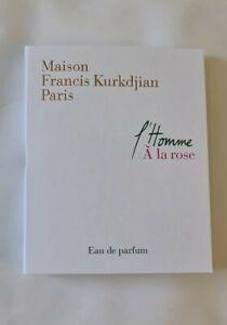 Maison Francis L'Homme A La Rose Eau de Parfum 2ml Mini Spray