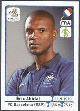 PANINI EURO 2012- #464-FRANCE-BARCELONA-ERIC ABIDAL