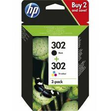 HP 302 Combo Pack Confezione Cartucce Originali Inchiostro Nero e Tricromia