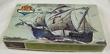Vintage Minicraft Santa Maria Plastic Model Ship Kit 121:600 Scale, Mint in Box