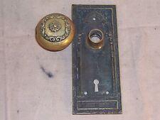 Antique Bronze Doorknob Medina Temple Building Chicago Architectural Hardware