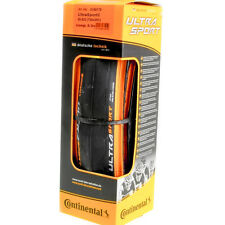 Continental Ultra Sport II Black/Orange 700x25c