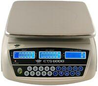 MyWeigh CTS6000 Digitalwaage 6kg / 0,1g Waage digital Küchenwaage Zählwaage