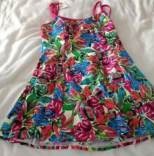 Magi sculpt Swim dress Swimsuit With Padded Cups Floral Size 12 NEW