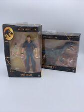 New listing Jurassic World Velociraptor Blue & Owen Grady Fallen Kingdom Amber Collection