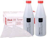Oce B5 / B-5 Genuine OEM Toner 9600/TDS400/TDS600 2 Pack Black Toner