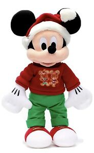 Disney Store Christmas 2020 Mickey Mouse Medium Plush New Tagged Dated Wow