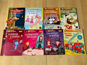 lot 8 livres Mes premières lectures - Hatier Poche / Je lis tout seul - Niveau 2