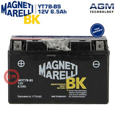 BATTERIA MAGNETI MARELLI 12V 6.5AH YT7B-BS YAMAHA YP MAJESTY 250 1996 1997 1998