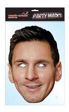 Lionel Messi Footballer Single 2D Card Face Mask - Argentina Goalscorer