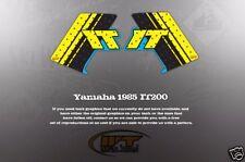 VINTAGE LIKE NOS 1985 YAMAHA IT200 TANK GRAPHICS