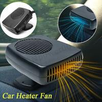 DC 12V/24V Car Portable Heating Cooling Heater Fan Ceramic Defroster  Gift