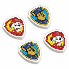 12 x Paw Patrol Erasers Childrens Party Favours Loot Fillers Party Prizes Gifts