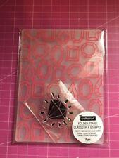 Gems And Stamp Embossing Folder Set