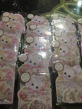 (32pcs)Cute Vintage Style Cat Pink Korea Japan Kawaii Stationary Stickers Set US