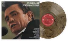 Johnny Cash At Folsom Prison Exclusive Vmp Club Members Tan Black Vinyl Lp Rotm
