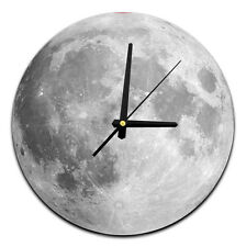 The Moon Time 18cm Glass Wall Clock