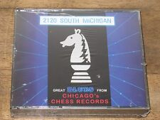 PROMO CD NEW 2120 SOUTH MICHIGAN GREAT BLUES FROM CHICAGO'S CHESS RECORDS