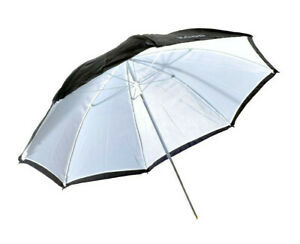 "Kood 47""/120cm Black / White Reflective Studio Umbrella"