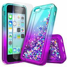 For iPhone 4 4s Case Liquid Glitter Quicksand Bling Soft TPU Cute Phone Cover
