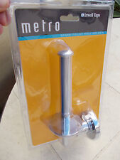 "CAROMA/ IRWELL ""METRO"" Spare Toilet Roll Holder"" Chrome FREE POST"