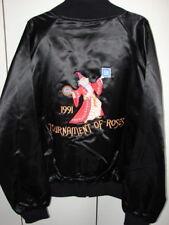 1992 Rose Bowl Parade Float Satin Jacket  Men Medium/Gen Motors-UAW