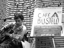 VIC CHESNUTT 1988 CAFE BUSTELO ORIG UNPUBLISHED PHOTO 2