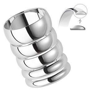 Platinum Medium Weight Wedding Ring Band D Shaped Profile 950 Brand New