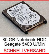 """80 GB FESTPLATTE 2,5"""" 6,35cm NOTEBBOK IDE PATA FÜR DELL LATITUDE D600 D610 D800"""