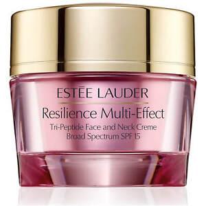 Estée Lauder Resilience Multi-Effect Tri-Peptide Face and Neck Crème SPF15 DRY S