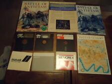 BATTLE OF ANTIETAM Atari 800 48k 5.25 Inch DiscS DiskS IN BOX