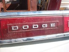 1988-1993 Dodge Dynasty CENTER OEM tail PANEL ASSEMBLY