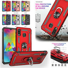For Samsung Galaxy A10/20 A50 A70 A6 A7/8 M20/10 Magnetic Armor Ring Stand Case