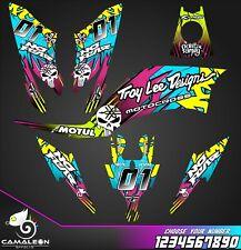 Yamaha Raptor 250 R graphics stickers decals kit atv 250r
