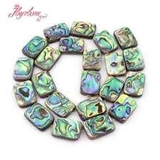 Hoja de Lucite púrpura de perlas 15 X 21mm a granel paquetes de 5 X 30 Piezas Arte Joyería Bricolaje Hobby